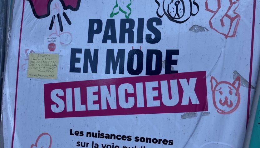 Paris en mode silencieux
